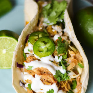 Sweet & Spicy Pulled Pork Tacos #SundaySupper