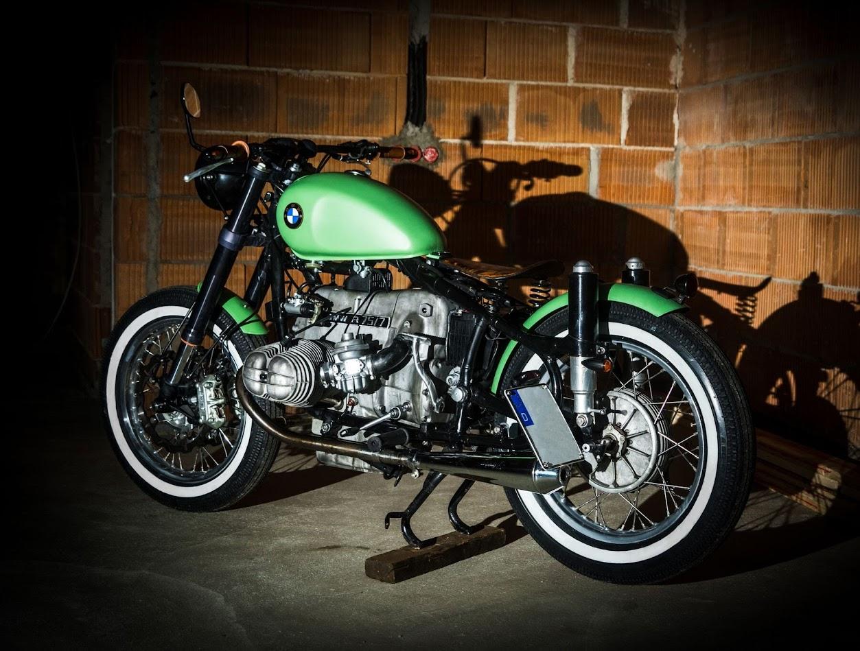 BMW Motorrad Boxer Umbau mit vielen tollen Lösungen