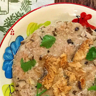 Steamed Minced Pork with Salted Fish and Mushroom Recipe