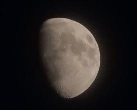Photo: 今日の月。十日夜月。
