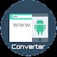 Convert Web to APK Download on Windows