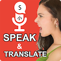 Speak and Translate All Languages Voice Translator icon