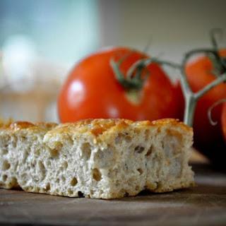Cheesy Whole Wheat No-Knead Focaccia
