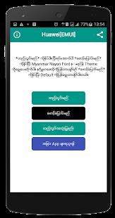 Myanmar Nayon Font - náhled