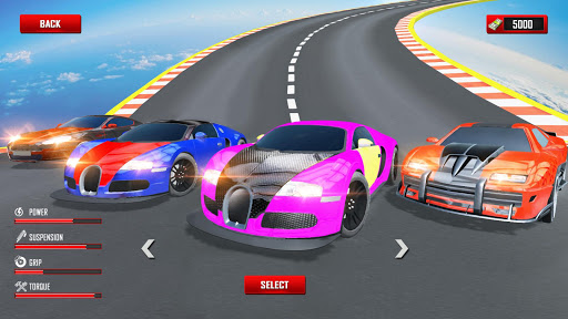 Mega Ramp Car Stunts Racing : Impossible Tracks 3D android2mod screenshots 13