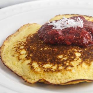 Low Carb Lemon Cottage Pancakes.