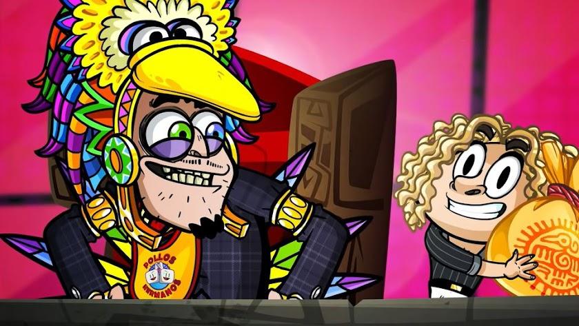 Captura de pantalla de Bisbal en el capítulo 3.