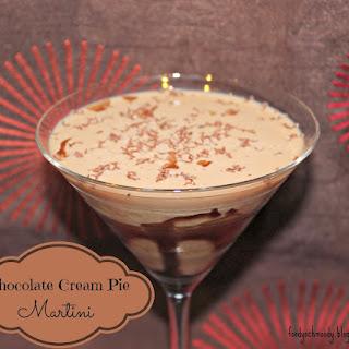 Chocolate Cream Pie Martini (& The Wednesday Roundup #3).