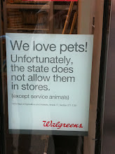 Photo: Walgrees Pets in NYC.