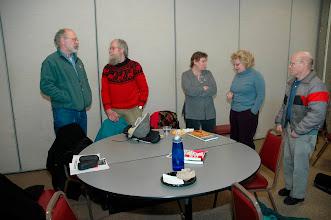"Photo: ""Minnesota 8"": (l) Pete Simmons, Don Olson, (r) Chuck Turchick"