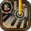 Piano Beethoven icon