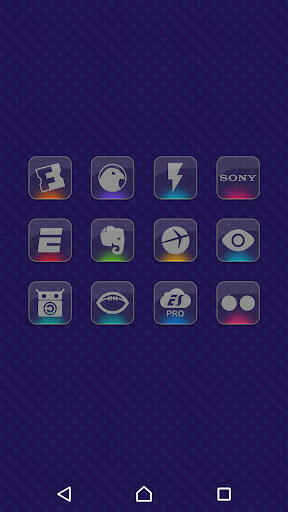 Color Gloss - Icon Pack Aplicaciones para Android screenshot