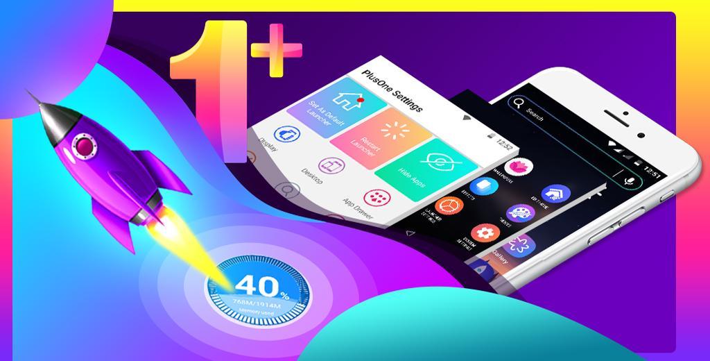 Launcher Plus One screenshots