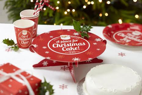 Tårtfat - Christmas
