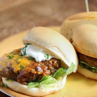 Enchilada Burgers.