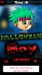 Halloween Boy - Collect Candies and Escape - náhled