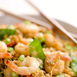 Light Shrimp Fried Quinoa Recipe