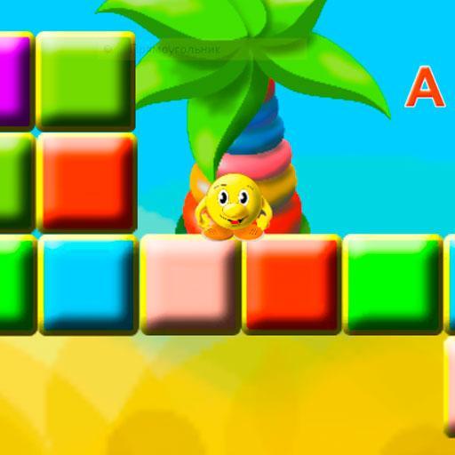 Колобок - Учит алфавит, игра (game)