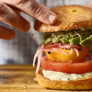 Beefsteak Tomato Sandwich.
