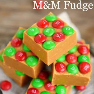 Outrageous Peanut Butter M&M's Fudge