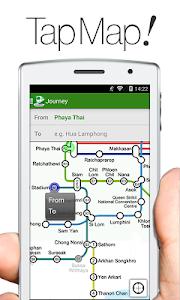 Transit Bangkok Thai NAVITIME screenshot 0