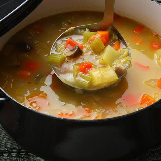 Basic Vegetable Soup.