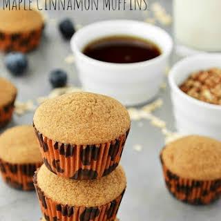 Gluten Free Maple Cinnamon Muffins.