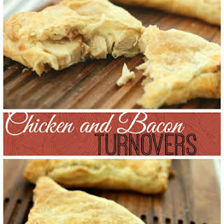 Chicken and Bacon Turnovers.
