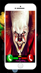 Calling Old Pennywise And New Pennywise APK screenshot thumbnail 2