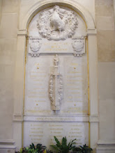 Photo: We enter by way of the Room of the Four Columns, which also has some nice bas relief art.