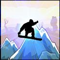 Snowboarder SKater Jump icon