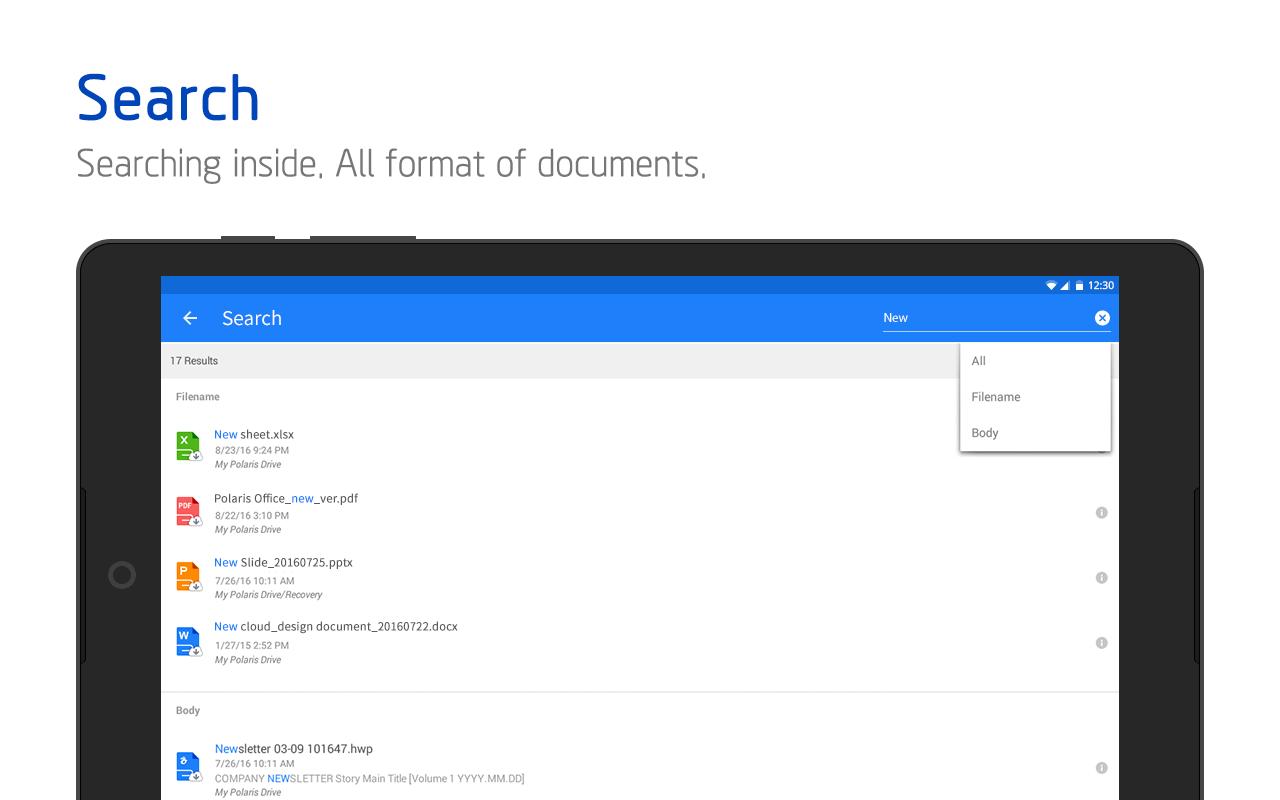 Polaris Office + PDF screenshot #14