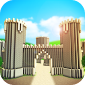 KING CRAFT: Medieval Castle Building Knight Games Android APK Download Free By Survival Crafting & Exploration Adventure Games