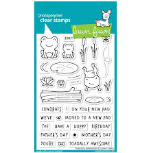 Lawn Fawn Clear Stamps 4X6 - Toadally Awesome