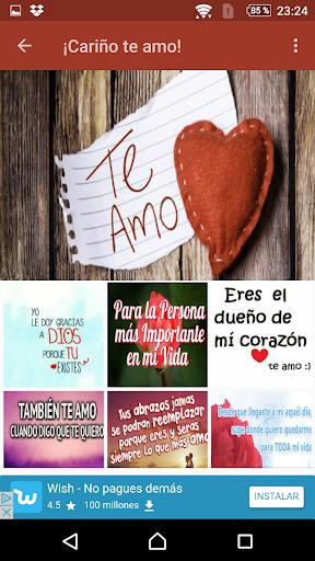 Download Carino Te Amo Imagenes Y Frases De Amor Google Play