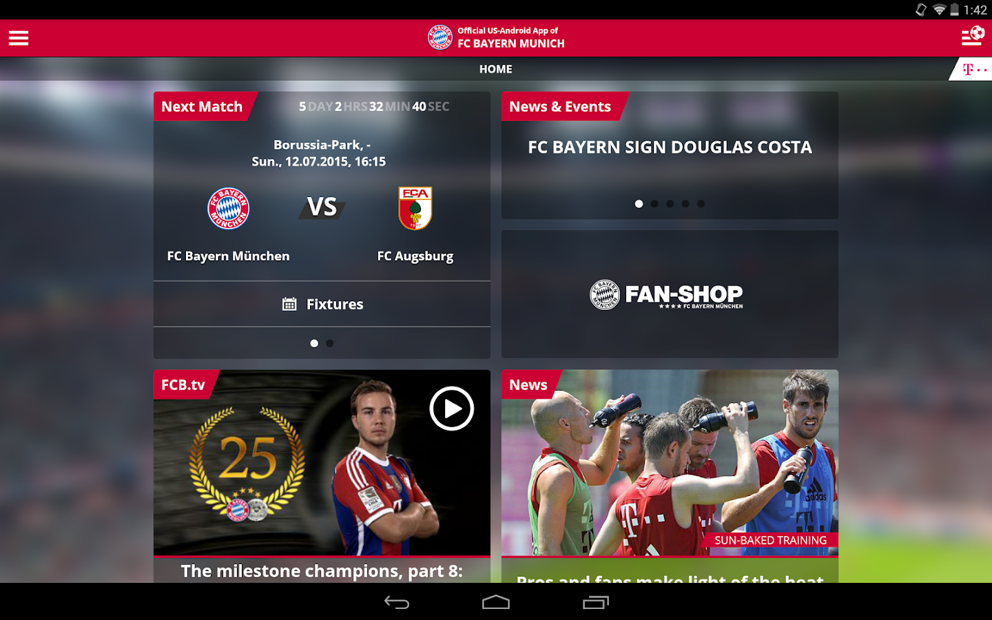 FC Bayern Munich- screenshot