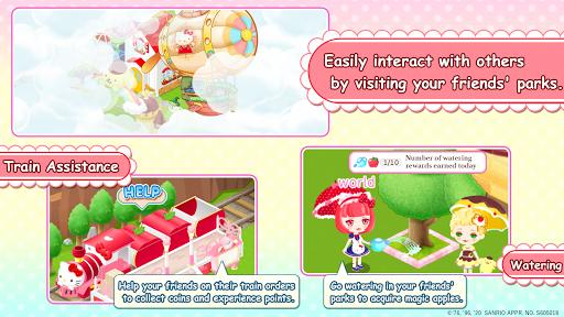 لقطات شاشة Hello Kitty World 2 Sanrio Kawaii Theme Park Game 5
