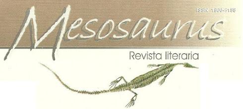 Photo: MESOSAURUS, Revista literaria.  Ediciones Exilio. Santa Marta. Director Hernán Vargascarreño.