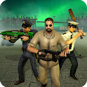 NY Police Zombie Defense 3D New Tower Defense Game icon
