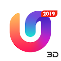 U Launcher 3D: New Launcher 2019, 3d themes icon
