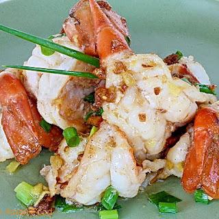 Garlic Shrimp Thai