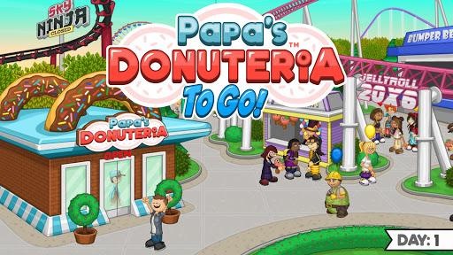 Papa's Donuteria To Go!  screenshots 1