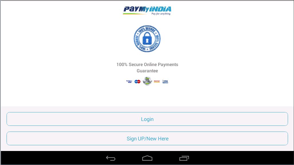 #5. PayMyIndia Recharge & PayBills (Android)