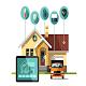 Download smart house (RFID, wifi light,fridge,Motor...) for PC