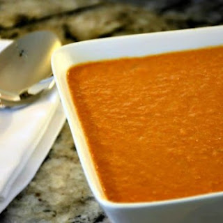 Slow Cooker Moroccan Tomato Soup.