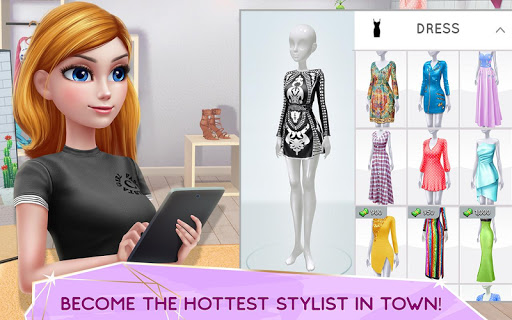 Super Stylist - Dress Up & Style Fashion Guru apkmartins screenshots 1