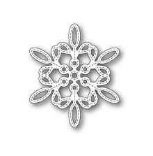 Memory Box Die - Purslane Snowflake Outline