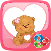 Sweet Bear GO Launcher Theme