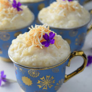 Coconut Tres Leches Rice Pudding.