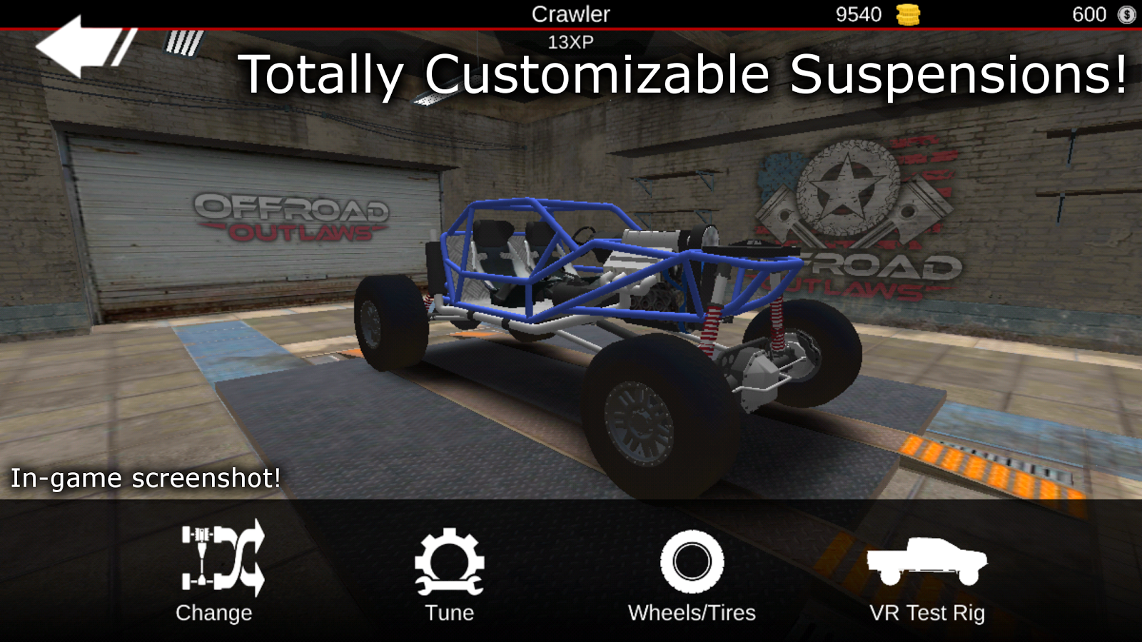 Offroad Outlaws- screenshot